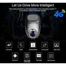 4G Car DVR Android 5.1 Car <b>Camera</b> GPS ADAS Dash Dual Lens ...