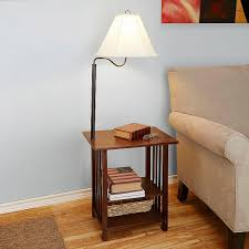 fascinating side tables with lamp ideas of convertable end table and lamp combo awesome table lamps