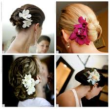 Flower Hair Style a dream wedding maui style llc flowers add to your hair style 7667 by wearticles.com