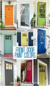 front door paint ideasRemodelaholic  50 Beautiful Doors  Front Door Paint Colors