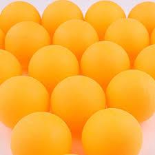 <b>50 PCS Table Tennis Balls</b>/<b>Ping Pong Balls</b> 40mm Ideal for Training ...