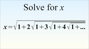can you solve this crazy equation ramanujan s radical brain teaser you