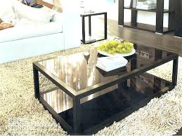 round cherry coffee table dark end tables wood stain finish accent t