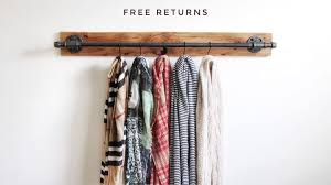 industrial scarf rack belt rack scarf hanger retail display intended for measurements x pics of wall