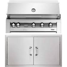 42 in built in natural gas grill