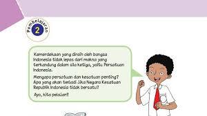 Materi pembelajaran mengenai proklamasi kemerdekaan indonesia halaman 3. Kunci Jawaban Tema 2 Kelas 6 Sd Halaman 53 54 55 58 60 61 62 Buku Tematik Subtema 2 Pembelajaran 2 Tribunnews Com Mobile
