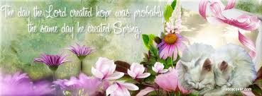 spring is coming picture quotes for facebook