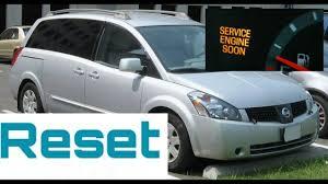 2003 Nissan Murano Service Engine Soon Light Reset How To Reset Service Engine Soon Light On A 2003 Nissan Quest