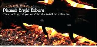 gas log embers fireplace ember gas fireplace glowing embers ventless gas log embers