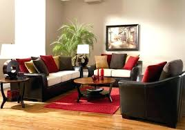 Brown And Red Living Room Ideas Impressive Design Ideas