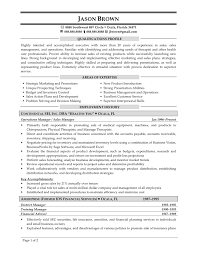 Resume Sales Manager Resume Template