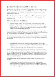 Star Interview Answers Examples Resume Questions And Answers Best Of Star Interview Approach