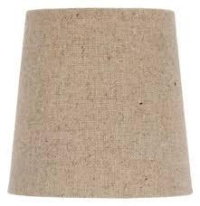 chandelier lamp shade clip on shade 5 inch burlap retro drum