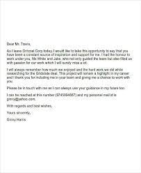 goodbye emails to coworkers exles