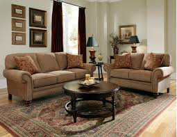 Microfiber Living Room Set Brown Living Room Set Living Room Fidelia Traditional