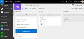 Microsoft Office Example Example Of Microsoft Office Planner Application Source Own