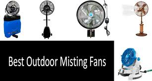 best outdoor misting fans photo