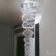 2019 rotating chandelier villa living room chandelier double helix crystal chandeliers modern minimalist from sweetwy 346 74 dhgate com