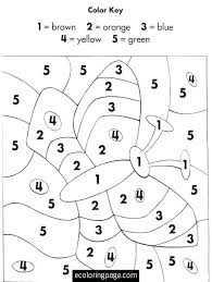 Halloween Coloring Pages By Numbers Color By Numbers Printable