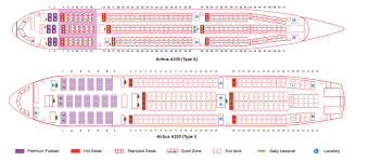 Airbus A330 Seating Chart Thai Airways Airasia X Product Becomes Inconsistent As Second Hand A330
