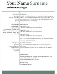 Modern Resume Not Including Objective Basic Modern Resume