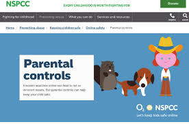 Image result for nspcc online safety parental controls