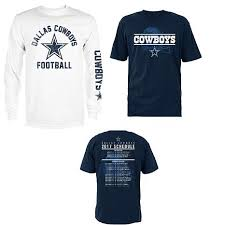 Officially Licensed NFL Dallas Cowboys 3-in-1 T-Shirt Combo ...