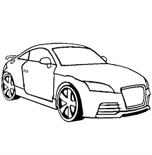 Disegni Per Bambini Macchina Audi Da Colorare Disegni Da Colorare