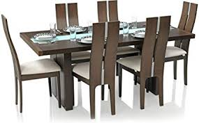 Dining table Outdoor Royal Oak Daffodil Six Seater Dining Table Set walnut Amazonin Royal Oak Daffodil Six Seater Dining Table Set walnut Amazonin