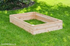how to make a box garden.  How How To Make A Garden Box  Onelittleprojectcom For To Make A Box Garden