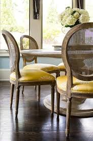 things we love cane marble top dining table round back dining chairs french