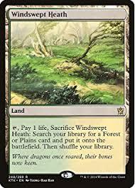 magic the gathering windswept heath 248 269 khans of tarkir