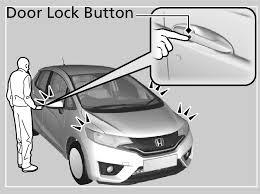 unlocking the vehicle