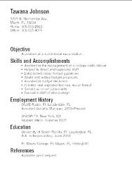 Resume Examples For Computer Skills In Sample Example Basic Samples New Computer Skills Resume Examples