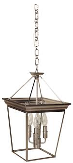 c144 dvp1010ch by dvi lighting forest hill collection semi flush mount pendant chrome with clear glass finish