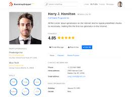 User Profile Design In Bootstrap Responsive Bootstrap 4 Profile Page Example Bootstrap 4 By