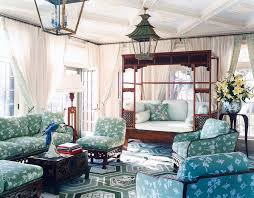 wood daybed family room eclectic with dark wood coffee table dark wood sofa glass door green blue home office dark wood