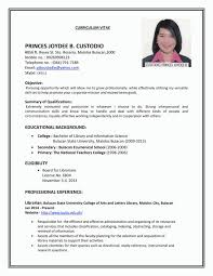 How Make Resume For Job Application 23 Format 81 Vision – Yierdaddc.info