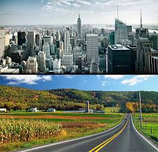 city vs country city life vs country life local seo challenges city versus country