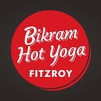 bikram hot yoga fitzroy logo