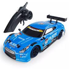 <b>1/16</b> 2.4G 4WD <b>28cm</b> Drift <b>Rc Car</b> 28km/h With Front LED Light RTR ...