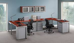 dual office desk. elements dual workstation office desk o