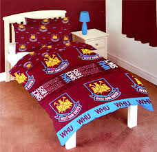 west ham single duvet cover