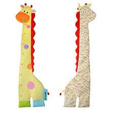 Amazon Com Growth Chart Giant Giraffe Growth Chart