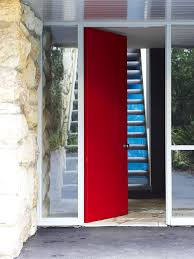 opening front door. Best Red Front Door Opening To Entrance Lobby At Bottom Of Stairs Pict House Open Style