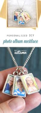 diy photo al necklace this is so cute it would be a perfect handmade