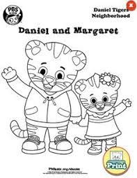 Best Of Daniel Tiger And Margaret Coloring Pages Fangjianme