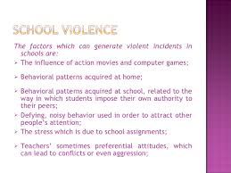 home and school violence  11