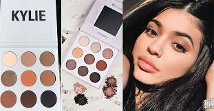 people are accusing kylie jenner of copying a por your s eyeshadow palette