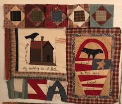 Humble Quilts: Sweet Land of Liberty Month 1 & The USA blocks finish at 4